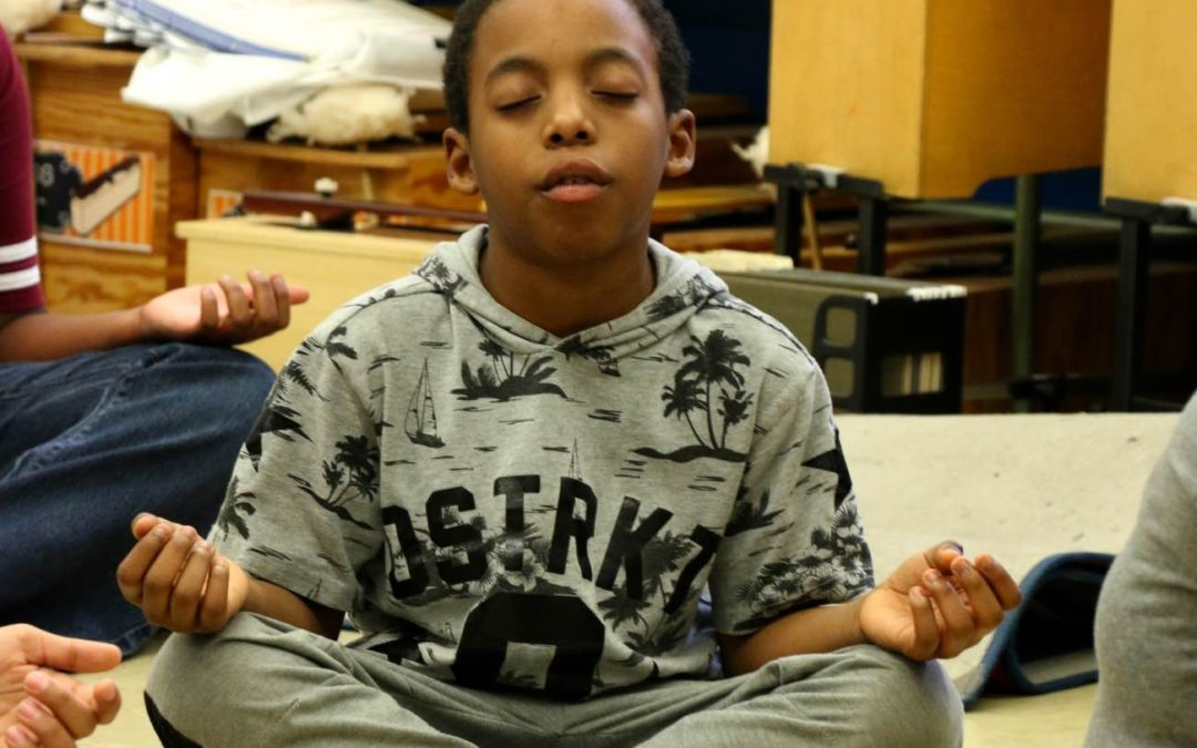 MINDFULNESS.  Rethinking wellness at DMF Youth.