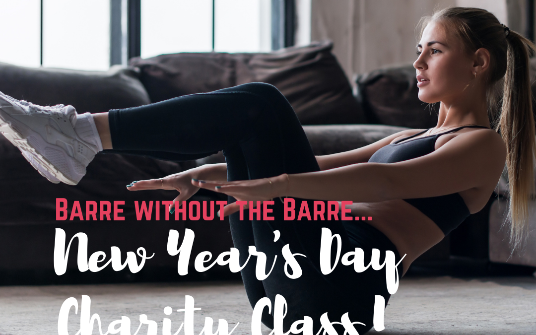 New Year's Day Charity Barre Class!